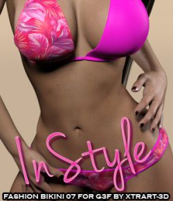 InStyle- Fashion Bikini 07 for G3F