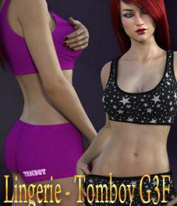 Lingerie- Tomboy G3F