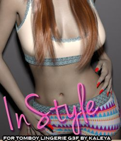 InStyle- Lingerie- Tomboy G3F