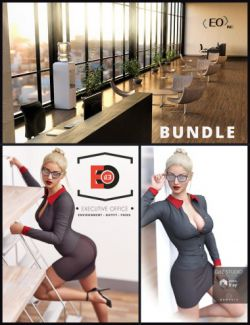i13 Executive Environment, Outfit and Pose Bundle