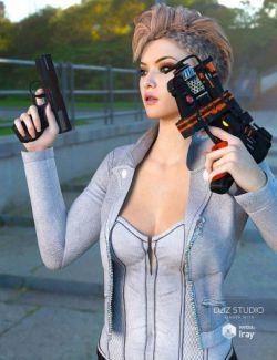 Sci-fi Gun Set