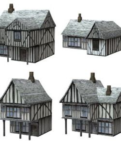 Low Polygon Medieval Buildings 2 (for DAZ Studio)