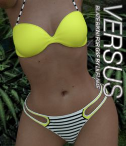 VERSUS- Blaze Bikini for Genesis 3 Female(s)