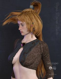 Vega Hewn Hair for Genesis 3 Female(s)