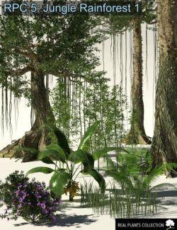 RPC Volume 5: Jungle Rainforest 1 for Daz Studio and Vue