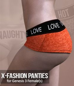 X-Fashion Panties  for G3F