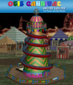 Otis Carnival Fun Fair Helter Skelter