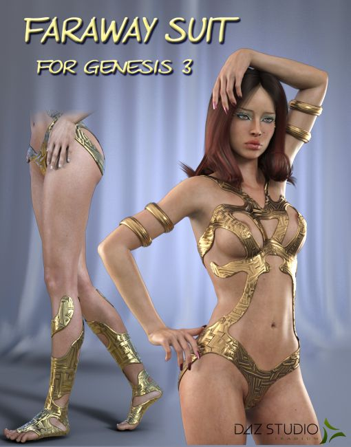 Faraway SUIT for Genesis 3 Female(s)
