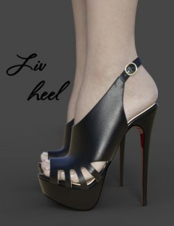 Liv High Heels for Genesis 3 Female(s)