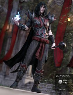 Arcane Summoner Outfit for Genesis 3 Male(s)