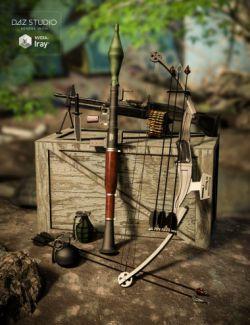 Mercenary Soul Weapons
