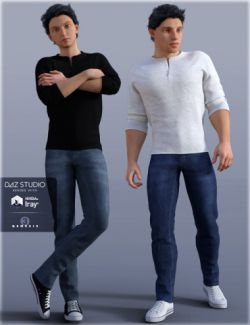 H&C Casual A for Genesis 3 Male(s)