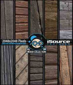 Wood Collection- Vol1 (PBR Textures)