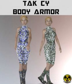Tak Cy - Body Armor for Genesis 2 and 3 Females