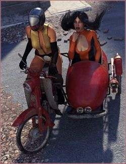 Moped Side Car
