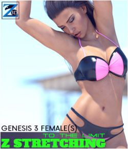 Z Stretching To the Limit- Poses for the Genesis 3 Female(s)