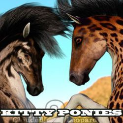Kitty Ponies Set 2 for the HW Horse