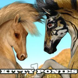 Kitty Ponies Set 1 for the HW Horse