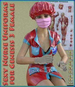 Sexy Nurse Uniform for Genesis 3 Female(s)
