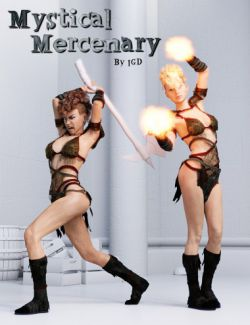 IGD Mystical Mercenary Poses for Genesis 3 Female