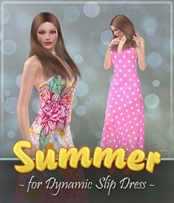 Summer for Dynamic Slip Dress