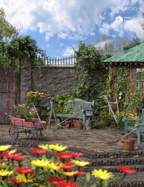 Old Garden - Full Suite RTR and HDRI