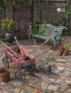 Old Garden- Props and Tools