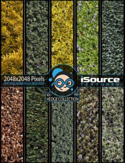 Hedge Collection Merchant Resource- Vol1 (PBR Textures)