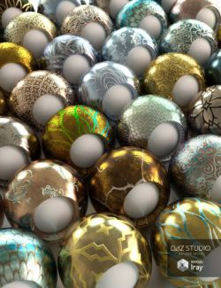 Elaborate Metals Iray Shaders