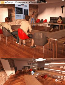 Multi Purpose Room (Meeting / Briefing / Class / Office Room)