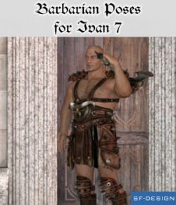 Barbarian Poses for Ivan 7
