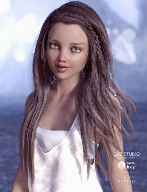 Tatum Hair for Genesis 3 Female(s)