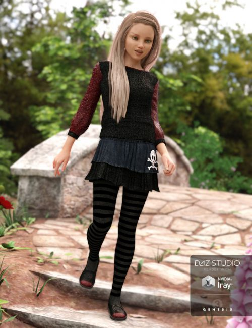 Kids Casual for Genesis 3 Female(s)