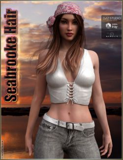 Seabrooke Hair for Genesis 3 Female(s)