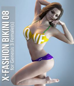 X_Fashion Bikini 08 for G3F