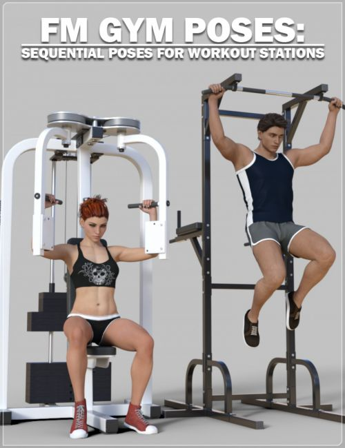 FM Gym Poses: Workout Stations