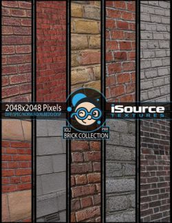 Brick Collection Merchant Resource- Vol2 (PBR Textures)