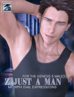 Z Just A Man- Morph Dial Expressions for the Genesis 3 Male(s)