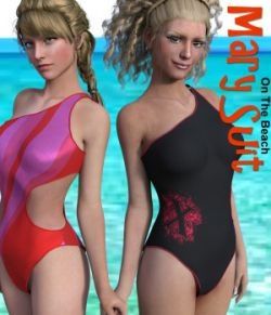 On The Beach - Mary Suit for Genesis3Female