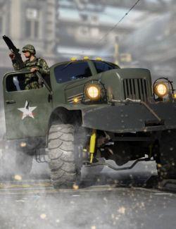 Nil-731 Military Utility Truck