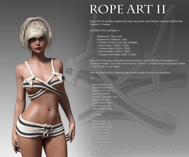 Rope Work 2 for G3F