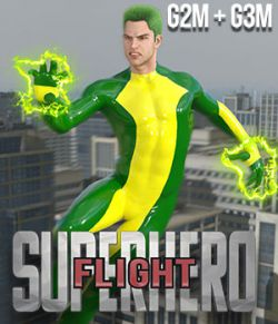 SuperHero Flight for G2M & G3M Volume 1