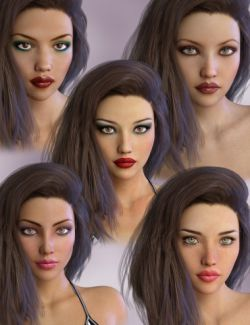 Genesis 3 Female Morph Package II