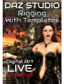 Daz Studio Rigging with Templates