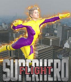 SuperHero Flight for G2F & G3F Volume 1