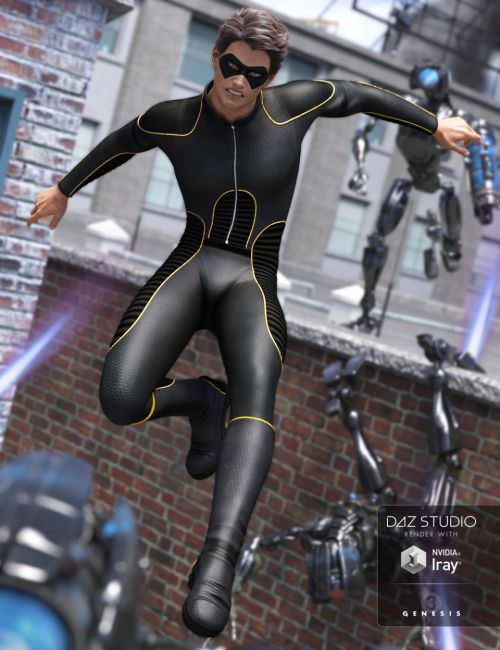 Super Bodysuit for Genesis 3 Male(s)