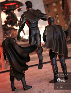 Super Hero Cape Set for Genesis 3 Male(s)