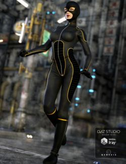 Super Bodysuit for Genesis 3 Female(s)