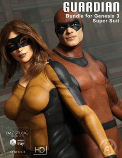 Guardian Bundle for Genesis 3 Super Bodysuits