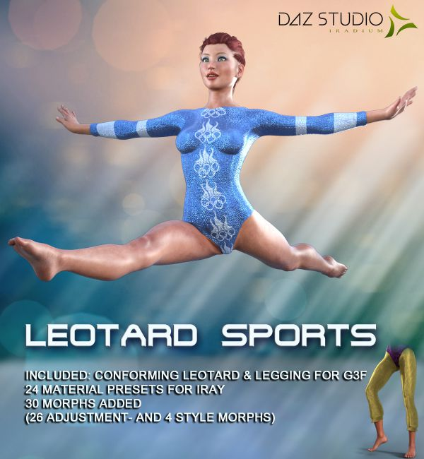 LEOTARD SPORTS for Genesis 3 Female(s)